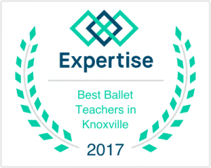 Angela Floyd Schools were voted best Ballet Teachers in Knoxville for 2017 Expertise poll