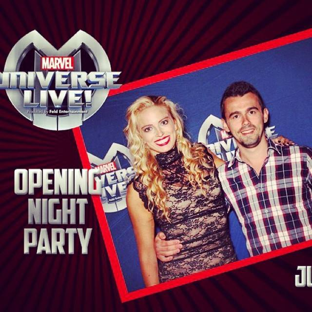 Ashtain Opening Night Captain Marvel
