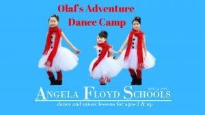 Olaf's Adventure Dance Camp