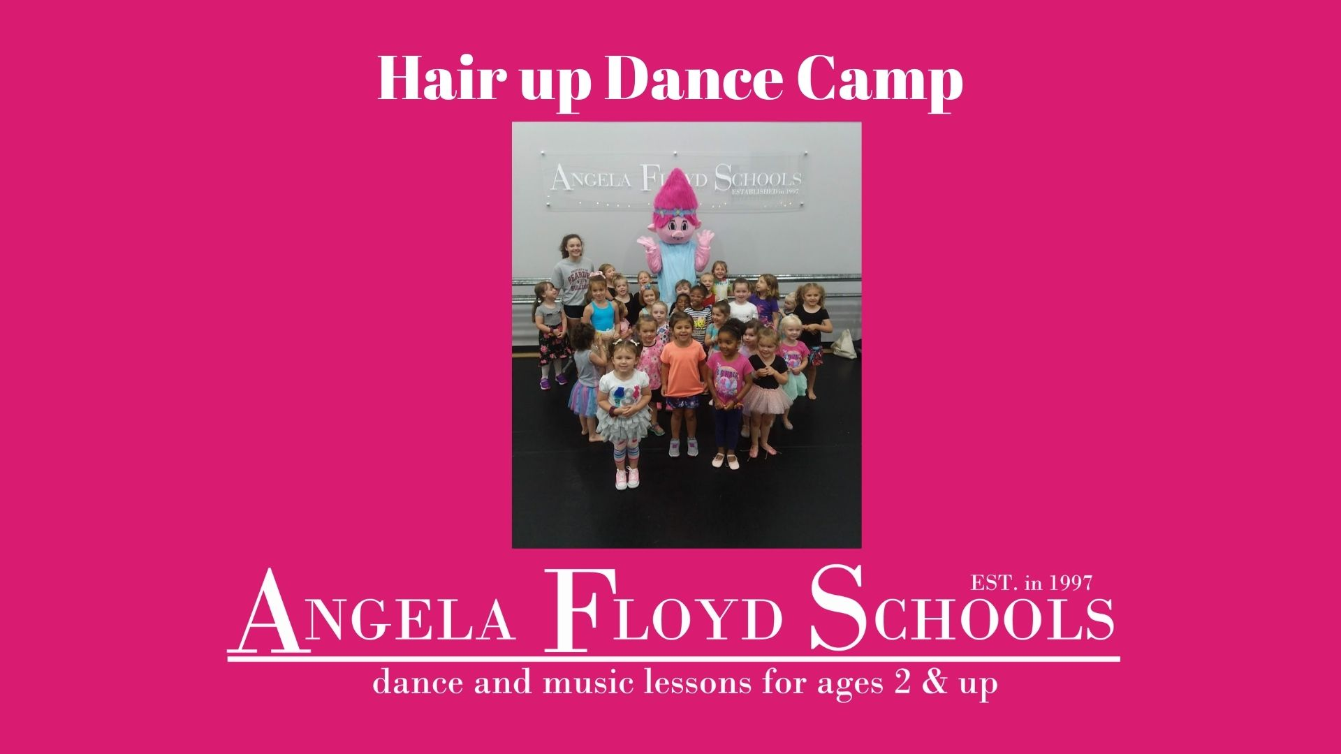 Hair Up Dance Camp