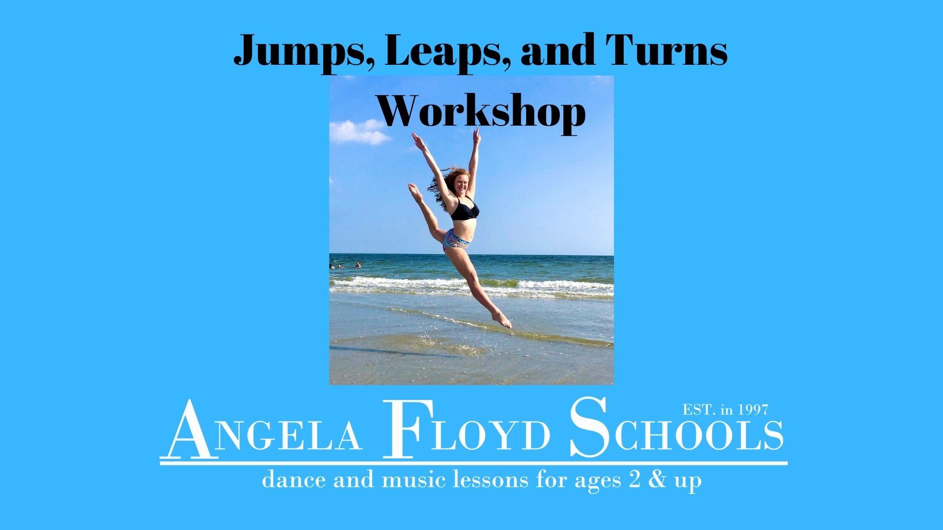 Jumps, Leaps, & Turns Workshop