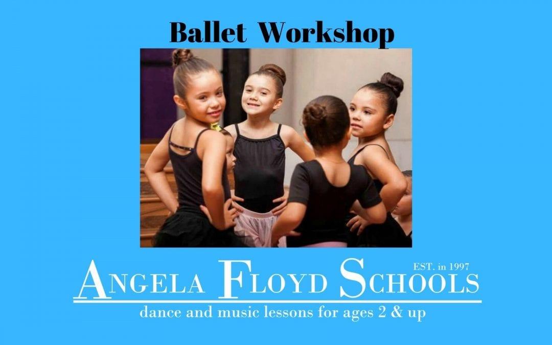 Ballet Workshop – June