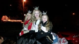 Bilbrey christmas parade 2015