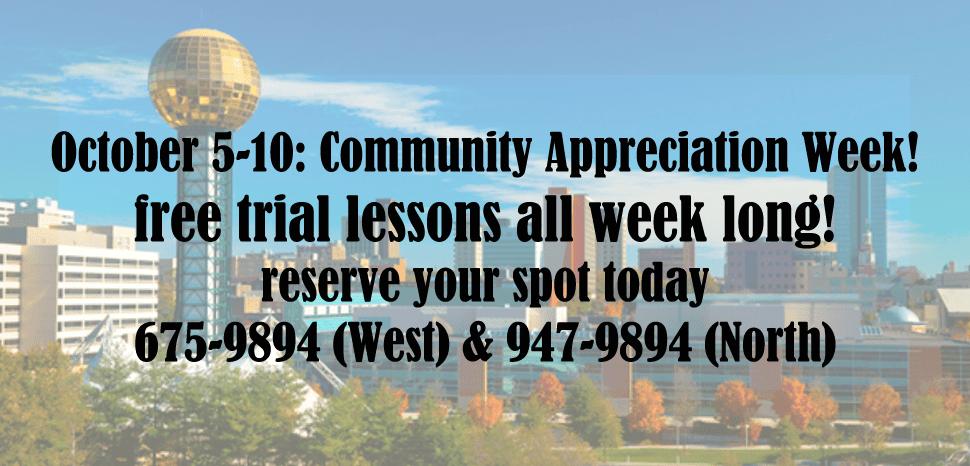 Community Appreciation Week is Here!