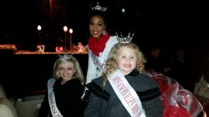 Chyeanne christmas parade 2015