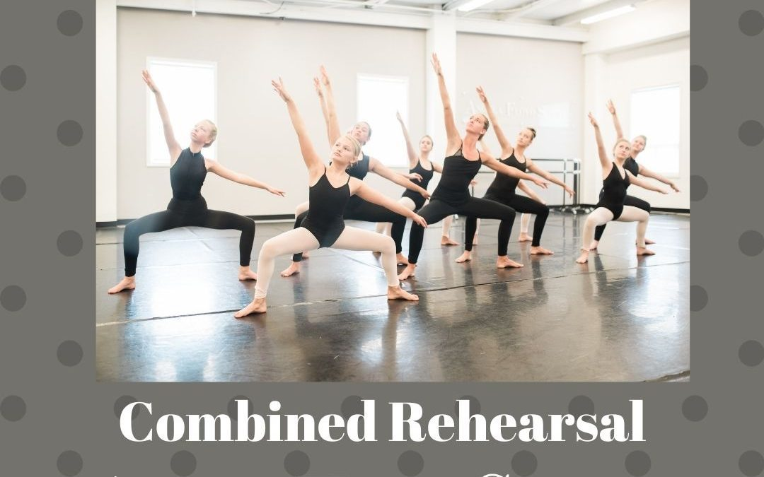 Combined in-studio rehearsal at AFS-North