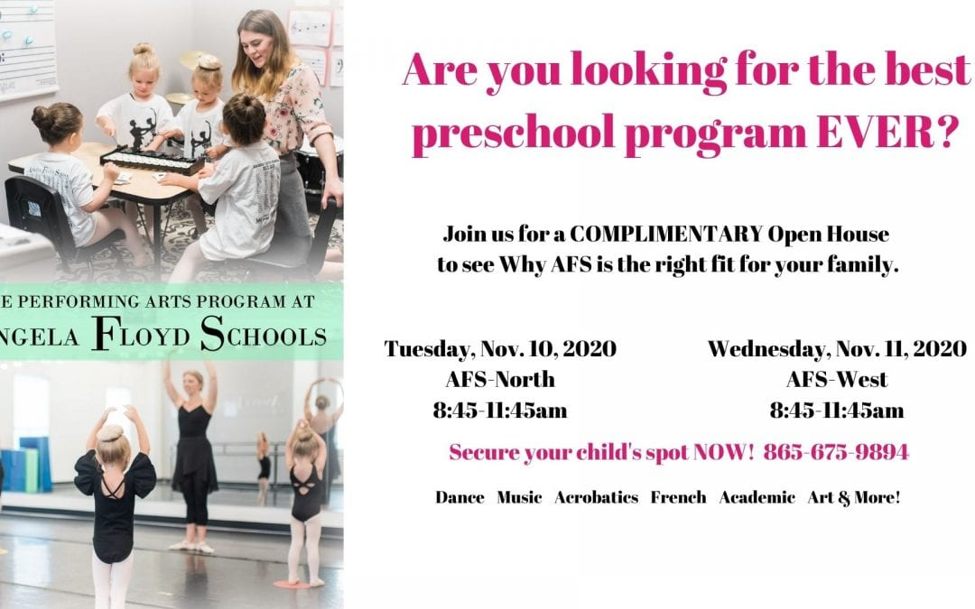 Open House Preschool Performing Arts