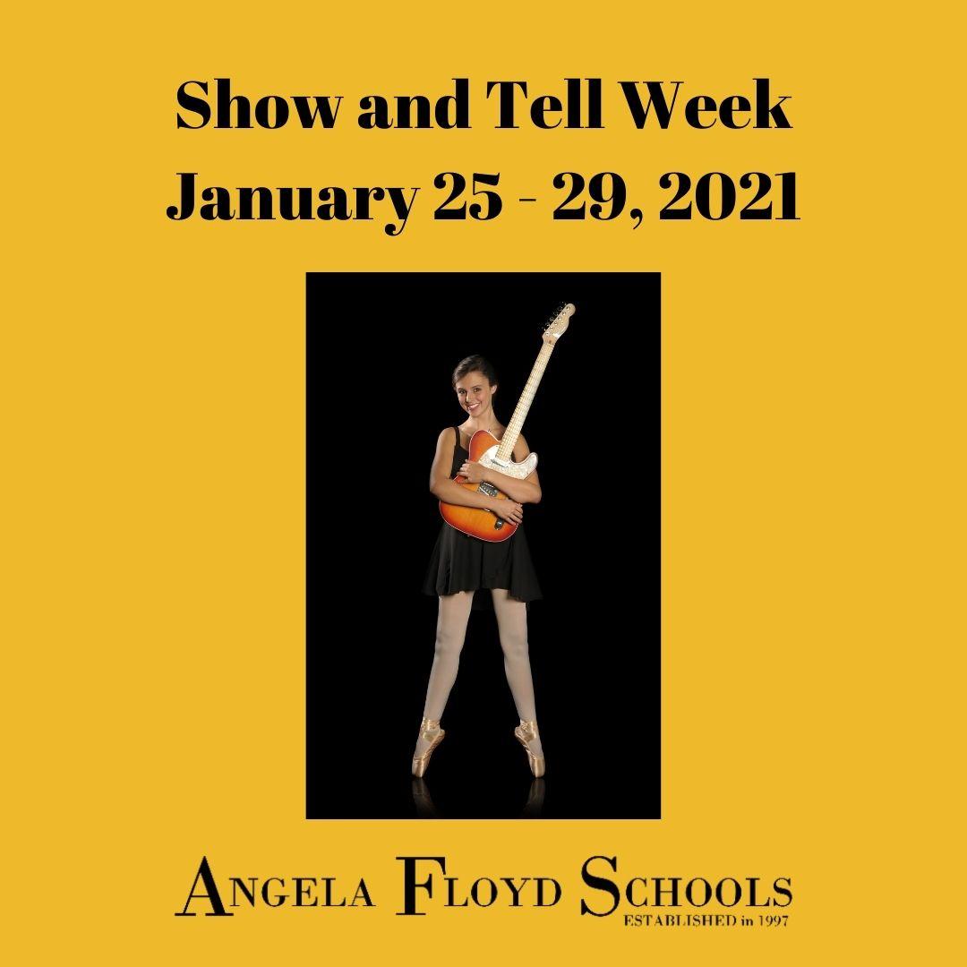 Show & Tell week, Jan 2021