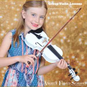 Group Violin Lessons (3)