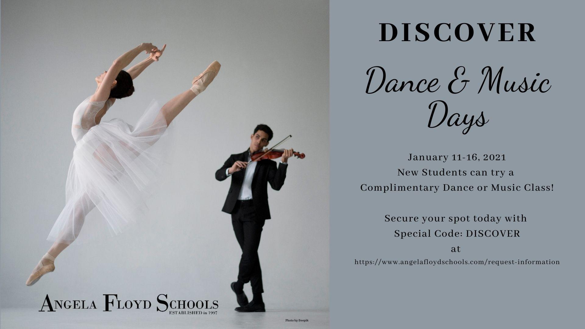 Dance & Music Days at AFSchools