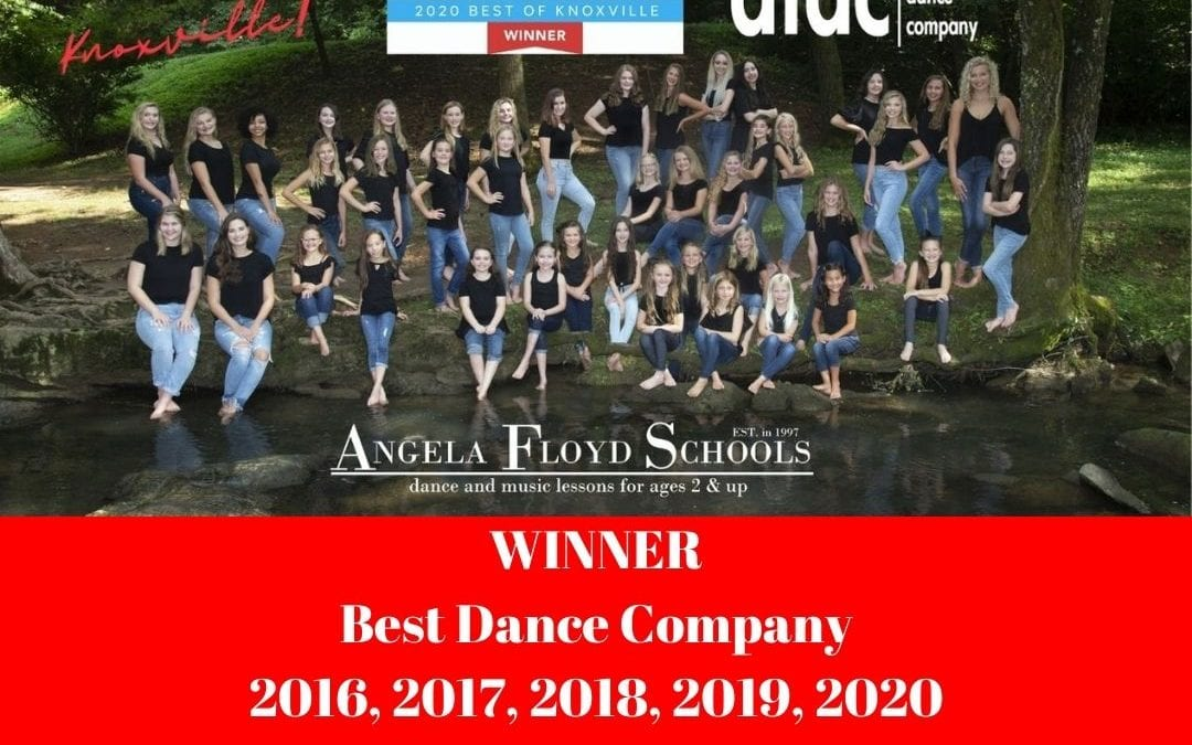 AFS Named WINNER Best of Knoxville Dance Company 2020!