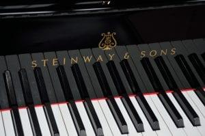 Keys of Steinway Grand Piano