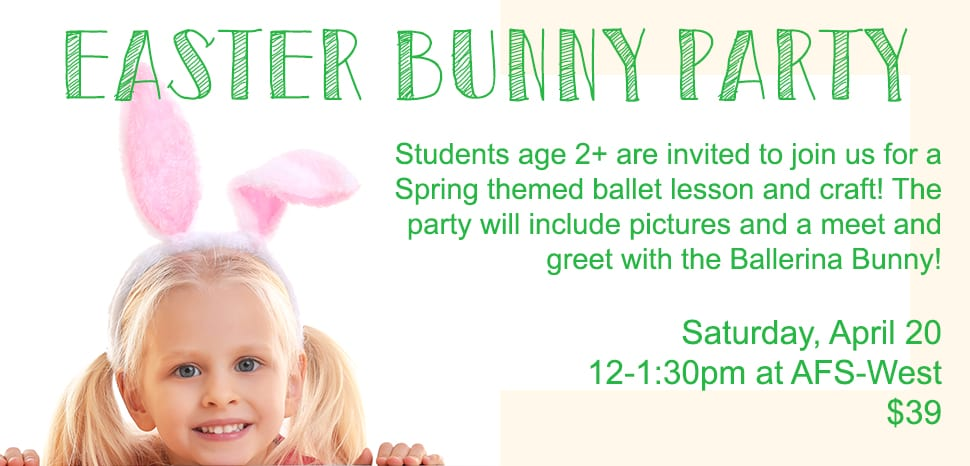 Easter Bunny Dance Party