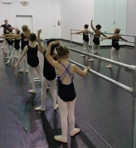 Elem ballet with Miss Karen