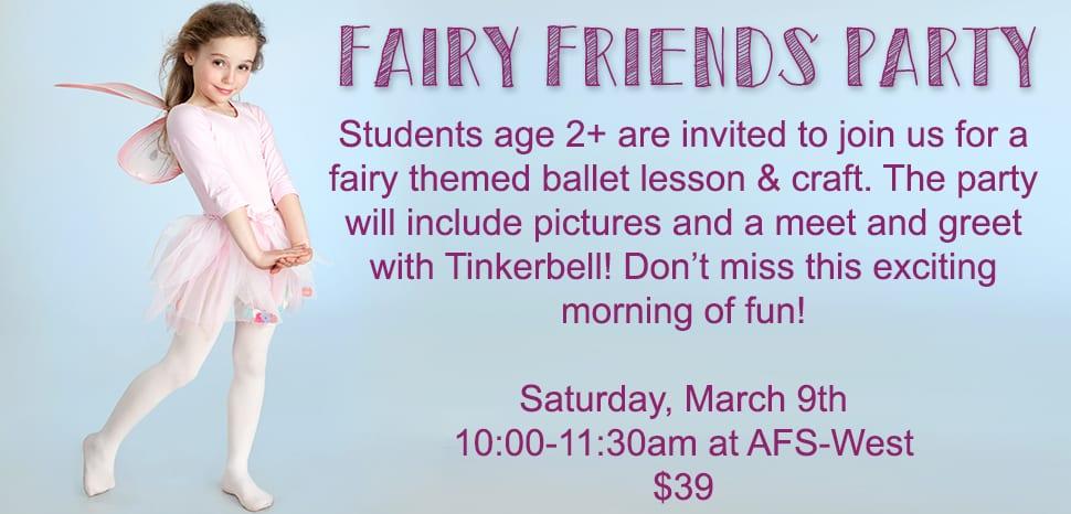 Fairy Friends Dance Party