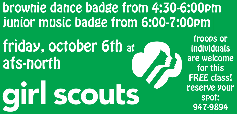 Girl Scout Badge Classes