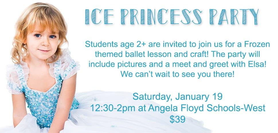 Ice Princess Dance Party