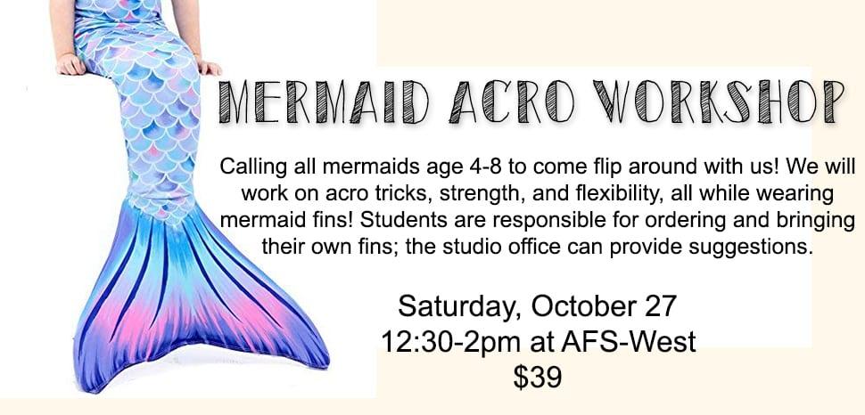 Mermaid Acrobatic Workshop
