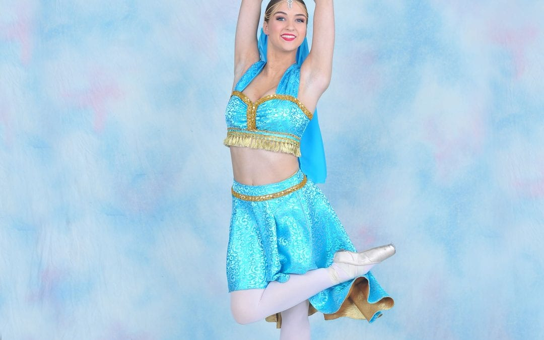 Princess Jasmine dancer