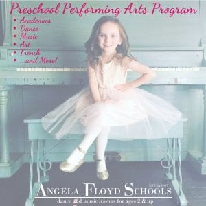 Preschool Performing Arts Program