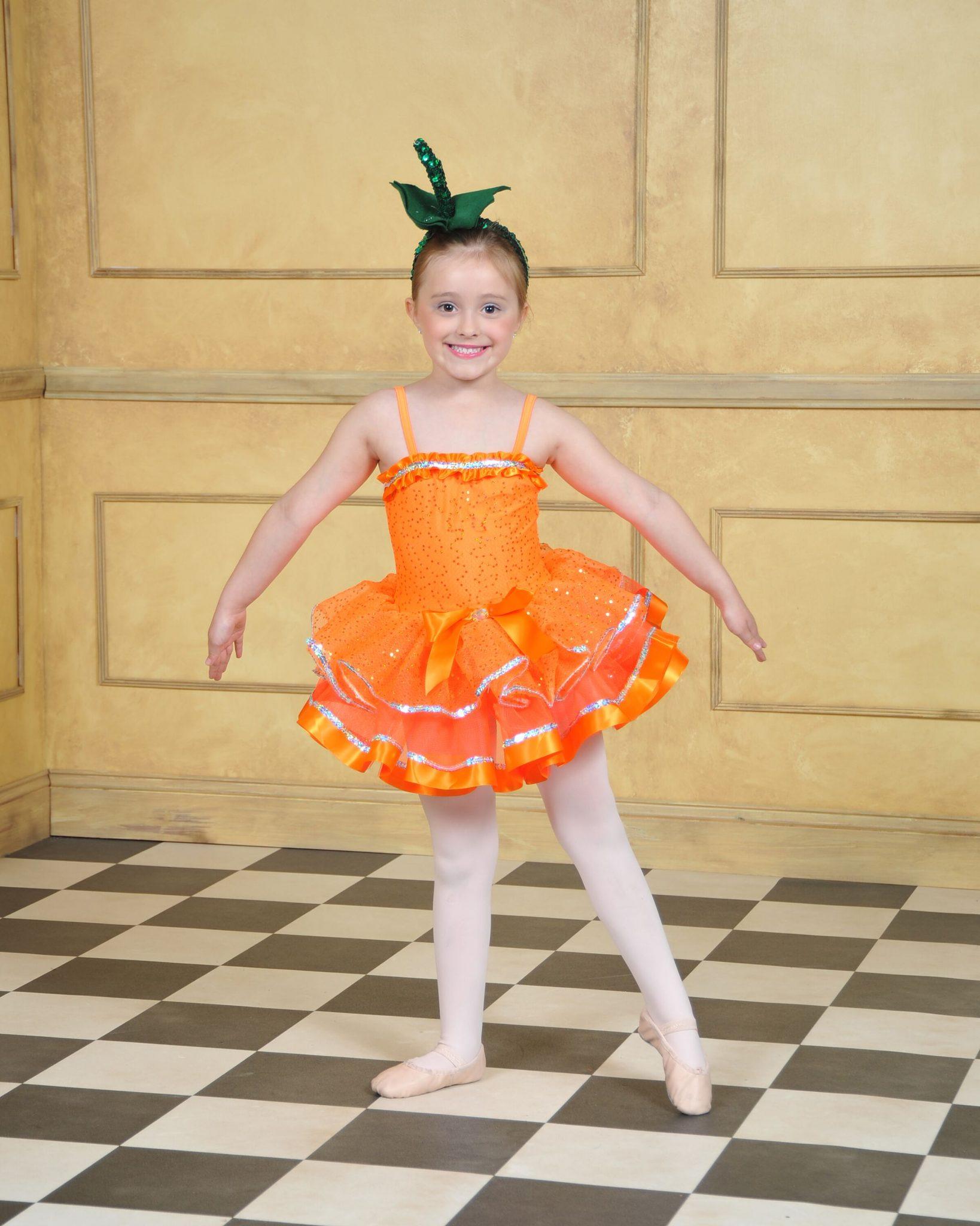 pumpkin ballerina
