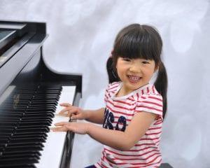 Girl playing piano 3