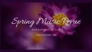 Spring Music Revue