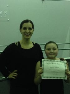Student of the Month Dance 2016 February Katelyn