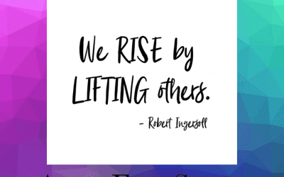 Who have you lifted up today?