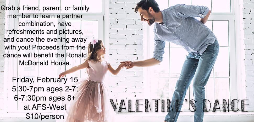 Valentines Dance to Benefit Ronald McDonald House