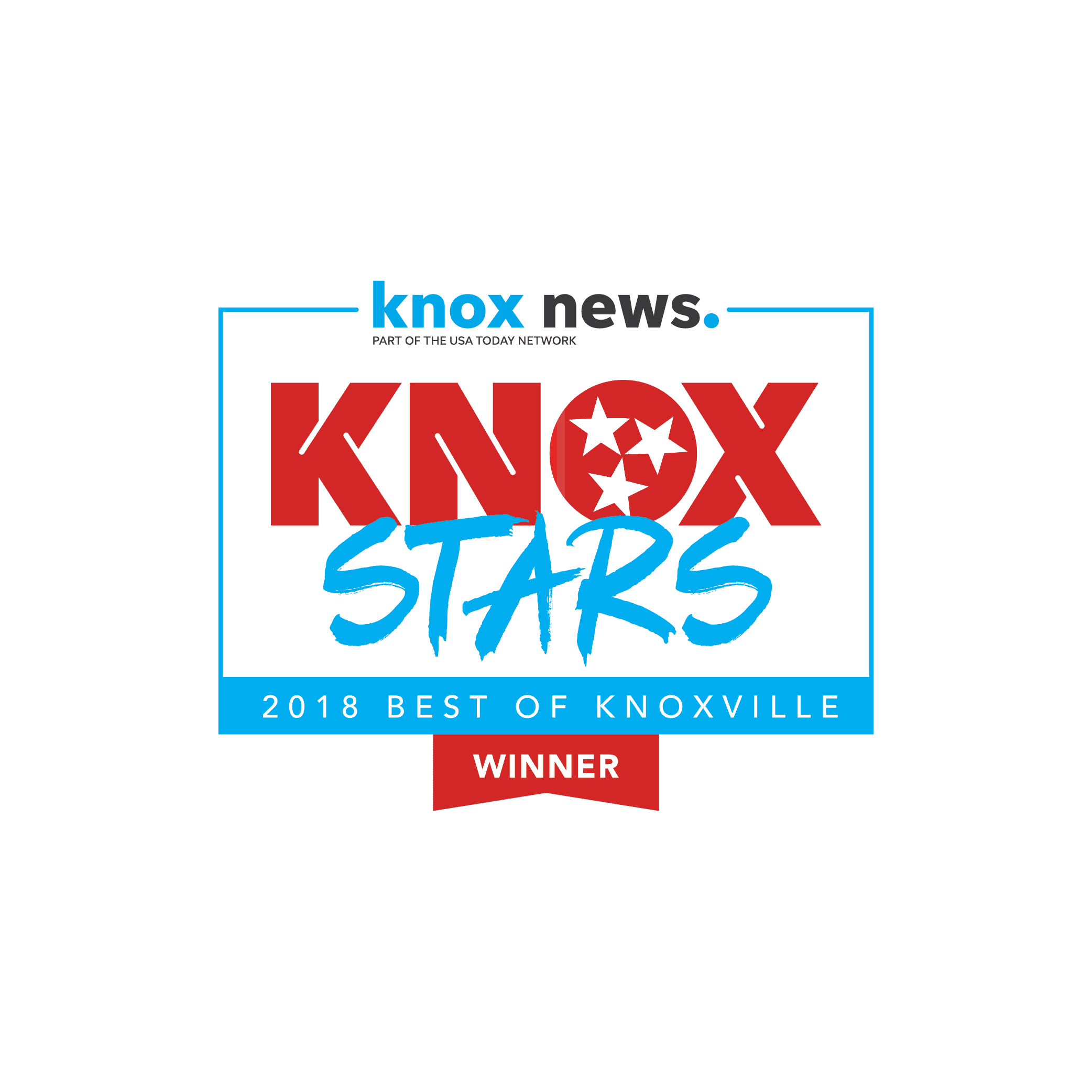 Best of Knoxville WINNER 2018