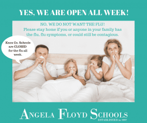 Flu Announcement
