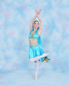 princess jasmine ballerina