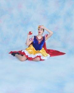 dancer in snow white costume