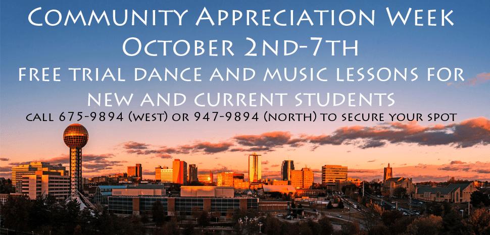 Community Appreciation Week 2017