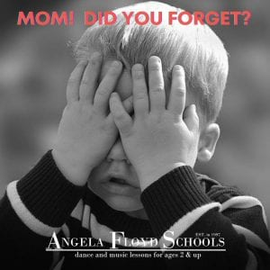 Mom! Did You Forget?