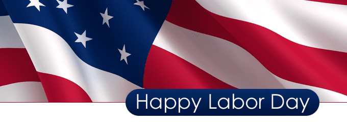 Closed for Labor Day – Monday, Sept. 5, 2016