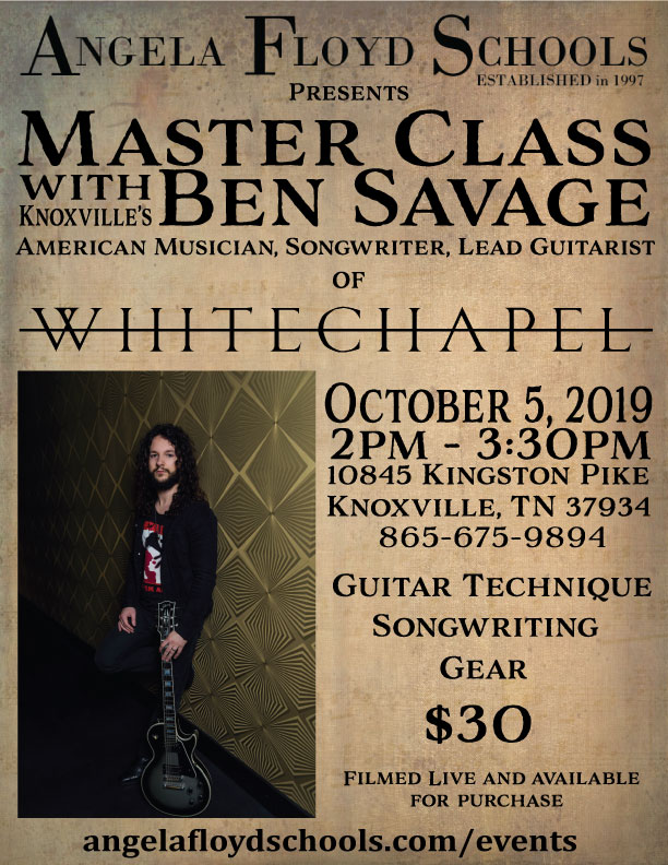 Master Class Ben Savage