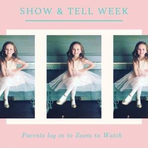 show & tell week 3
